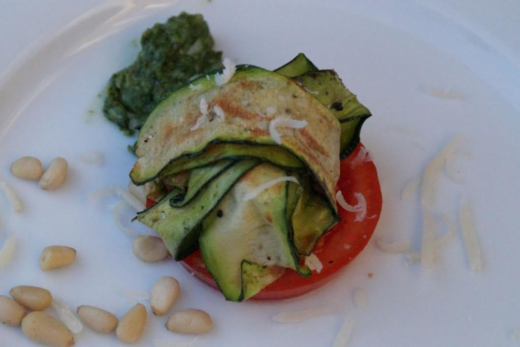 Courgette-Pesto